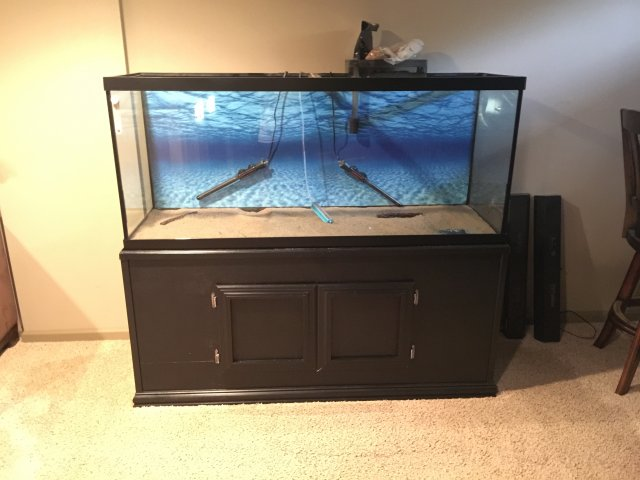 for sale 120 gallon fish tank aquarium leaks 250