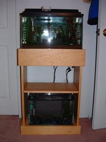 DIY 10 gallon aquarium stand? | AquariaCentral.com 10 Gallon Fish Tank Stand
