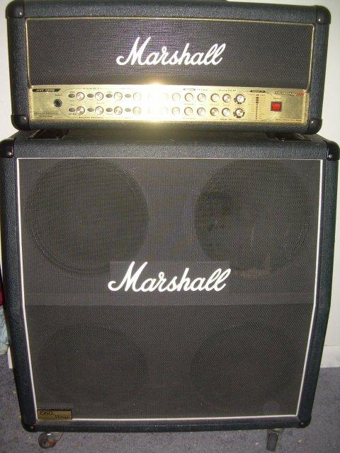 FS - Guitar Amp - Marshall AVT 150 + 1960 Vintage 4x12 cab
